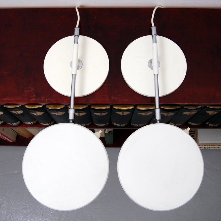 Overhead Shelf Lamps by Anders Pehrson for Ateljé Lyktan, Set of 2 In Good Condition For Sale In Stockholm, SE