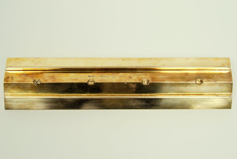 Brass Candleholder No. 69 by Pierre Forssell for Skultuna In Good Condition For Sale In Stockholm, SE