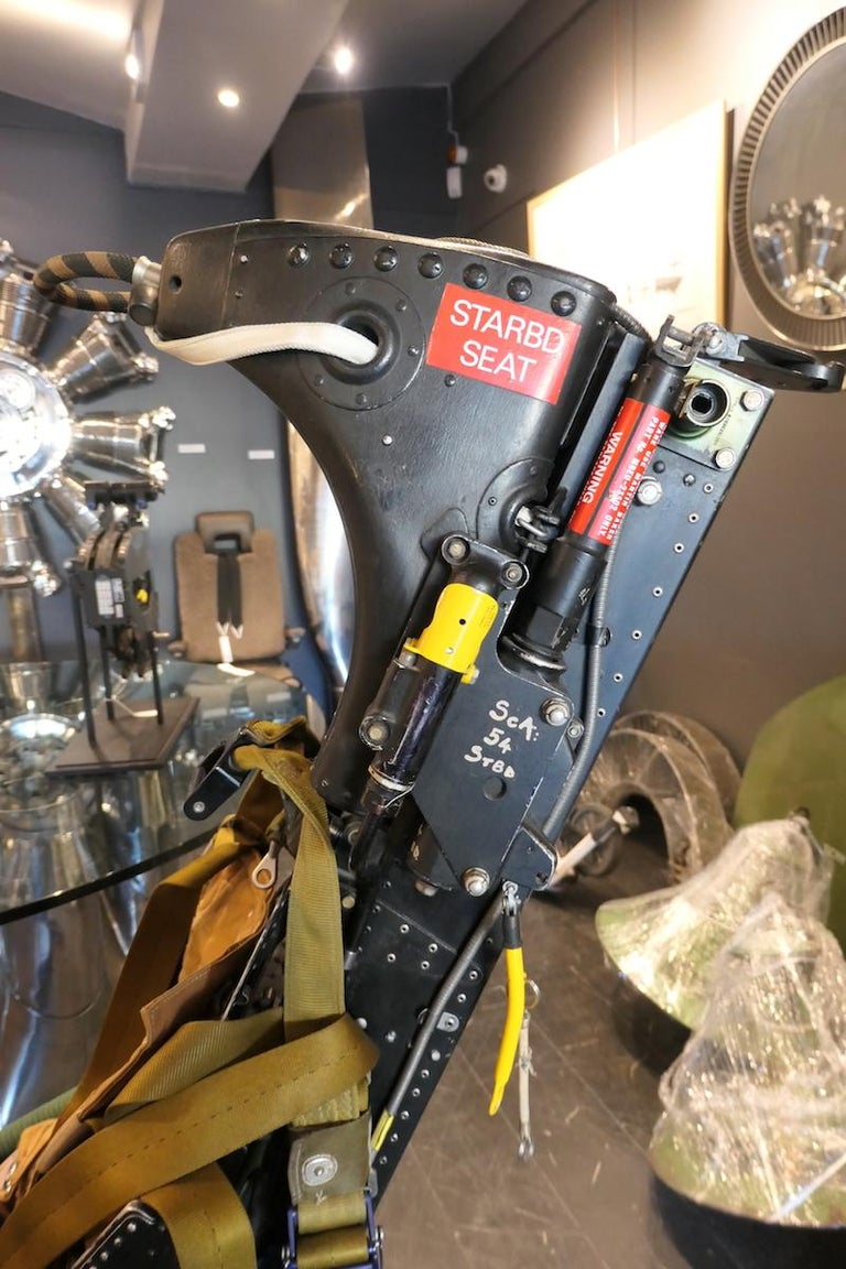 Authentic Aircraft Martin Baker Ejection Seat MK5 For Sale 2