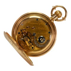 E. Howard & Co. Solid Gold Pocket Watch