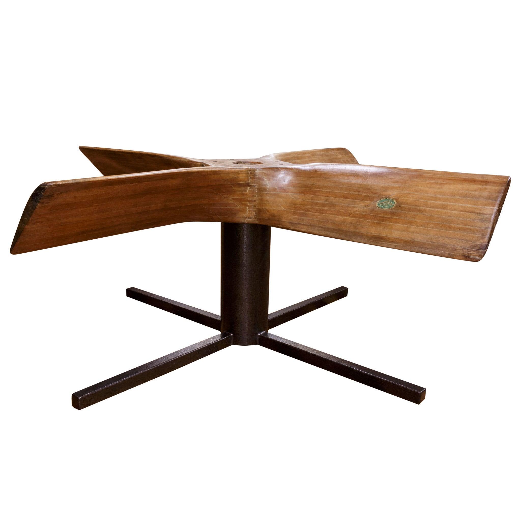 Old Fahlin Propeller Table