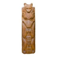 Northwest Bear Totem
