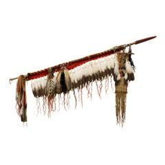 "Lakota Sioux Style ""Holy Man's"" Lodge Lance"