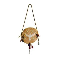Native American Muslin Ghost Dance Shield