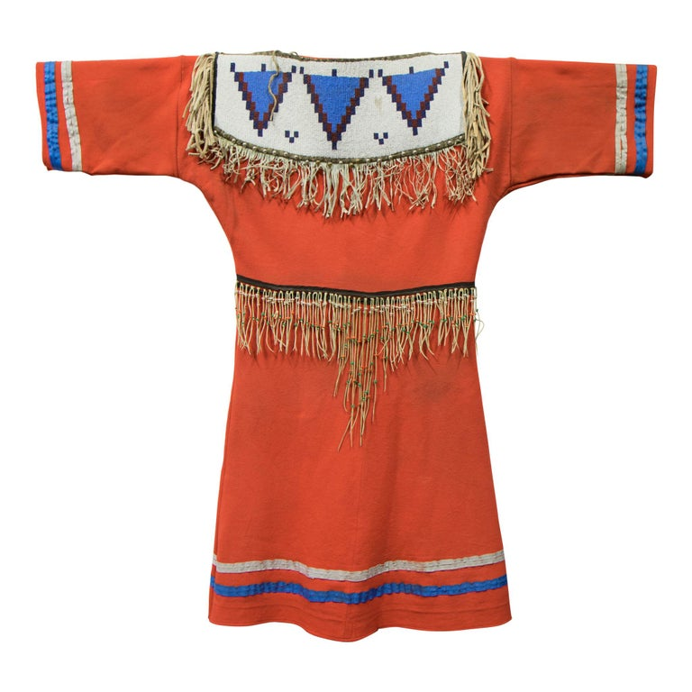 Blackfoot Native American Dress