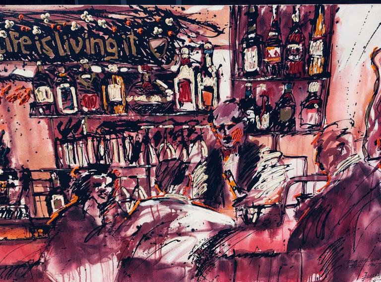 American Huge Newport Beach Bar Painting