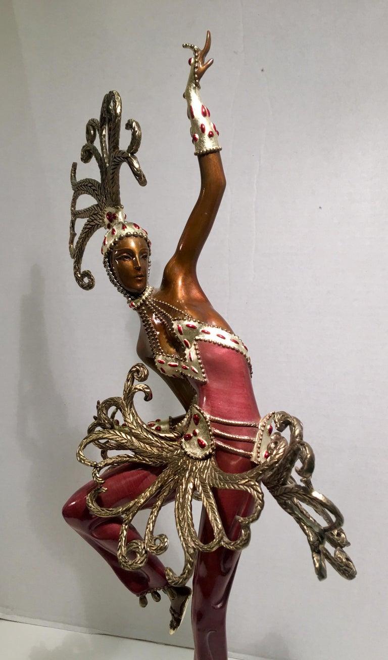 Late 20th Century Original Erte Bronze