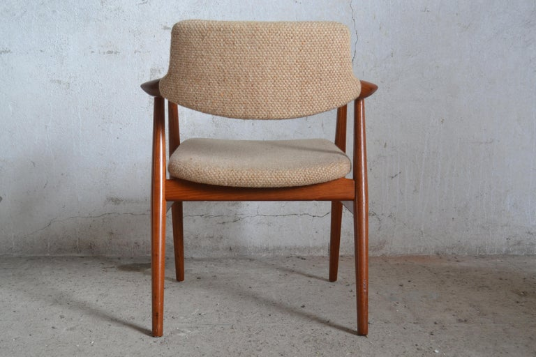 Danish GM11 Armchair by Svend Åge Eriksen for Glostrup, 1960s For Sale