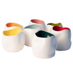 J Schatz Studio 2018 Out of Shape Vase, Mid-Century Modern Stoneware, in Stock