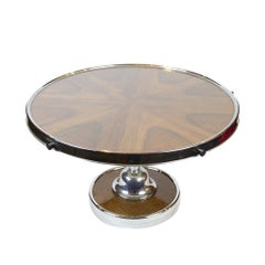 Rotating Tray as Table Top, Art Deco, circa 1920-1930