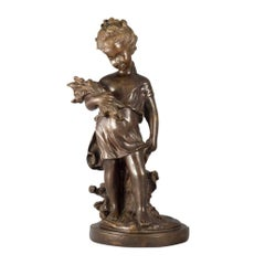 Bronze Sculpture Child