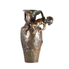 Vase Bronze Art Nouveau