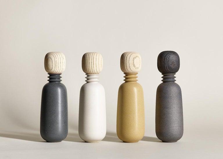 Twilight, Carafe Teacup Set, Slip Cast Ceramic, N/O Service Collection For Sale 1