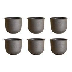 Twilight, Teacups, Set of 6, Slip Cast Ceramic, N/O Service Collection