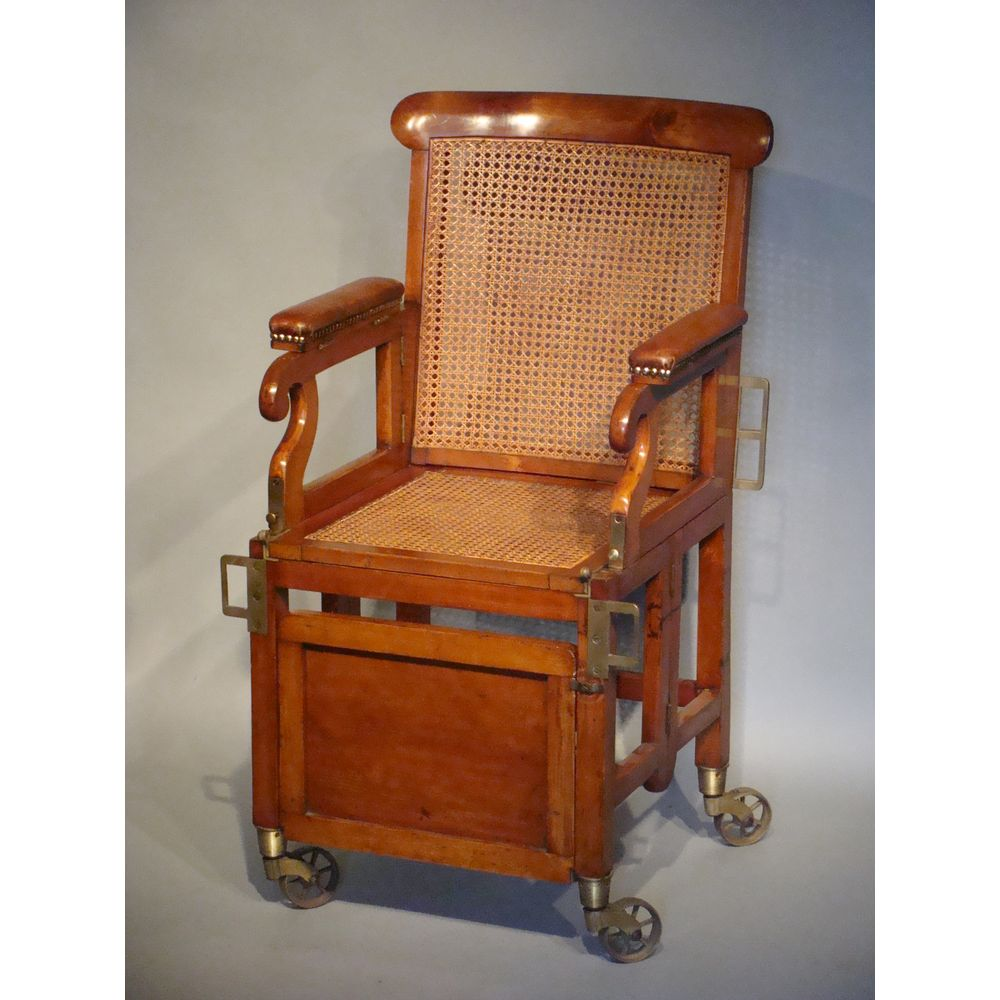 - Antique English Military Campaign Chair, 1820 For Sale At 1stdibs