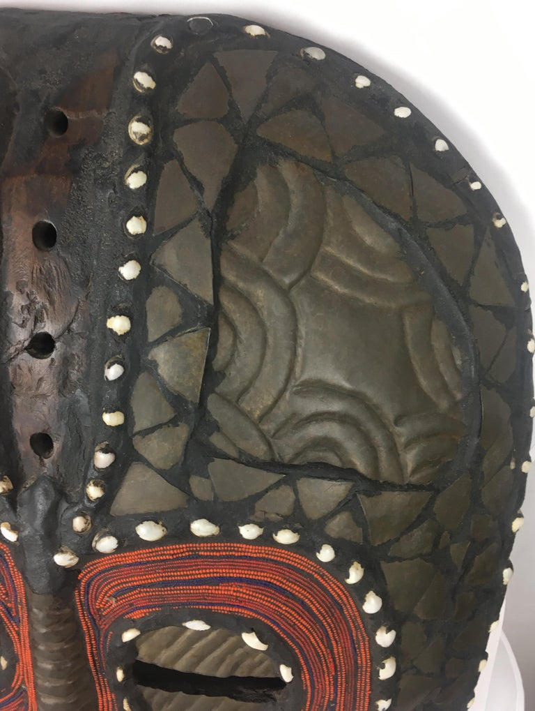 Very Large Mid-20th Century African Tribal Mask For Sale 2