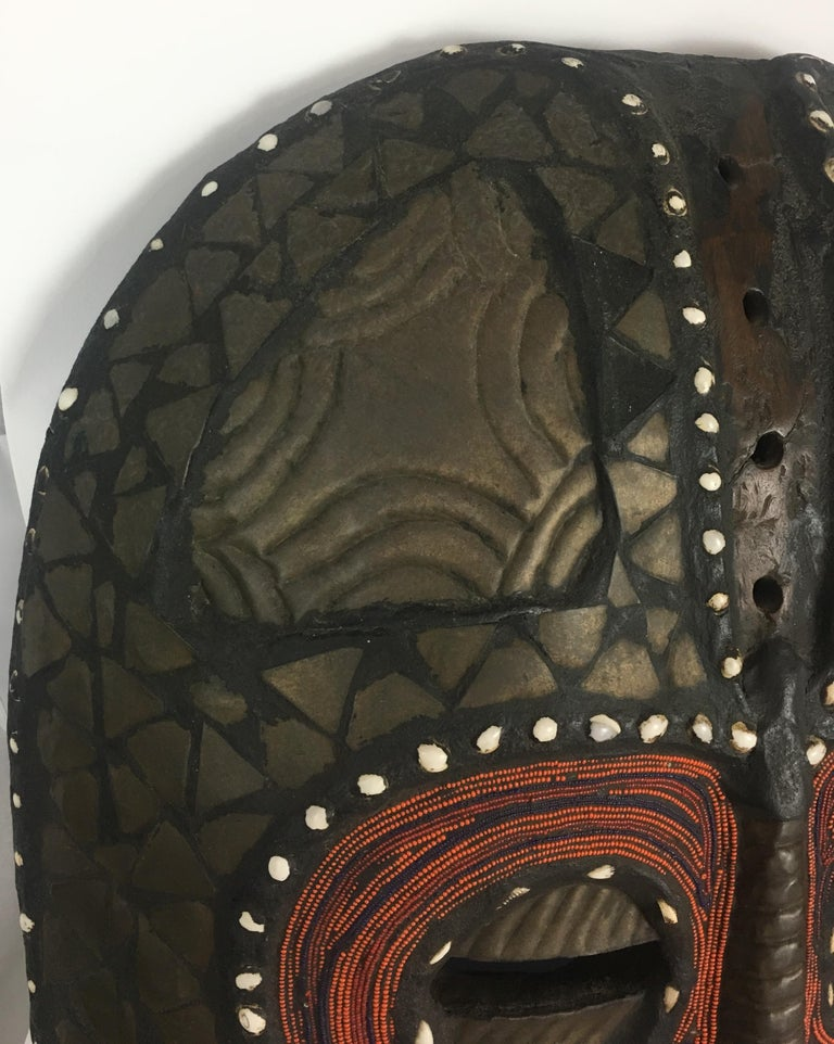 Very Large Mid-20th Century African Tribal Mask For Sale 5