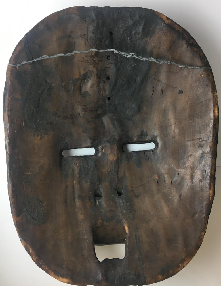 Very Large Mid-20th Century African Tribal Mask For Sale 6