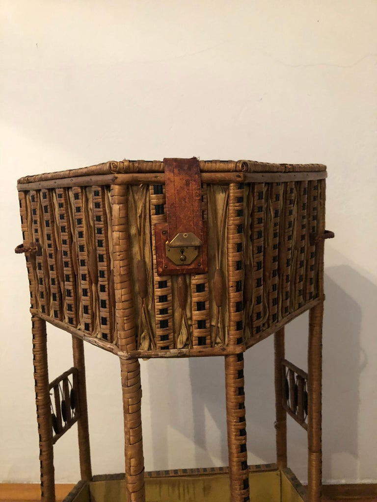 Other Prag Rudniker -  Fin De Siècle - Sewing Table  For Sale