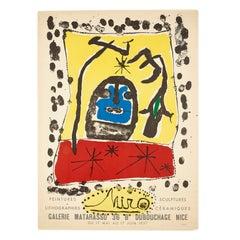 Galerie Matarasso, 1957, Joan Miró