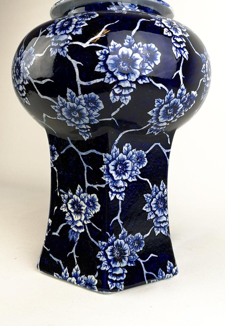 Swedish Art Nouveau Large Vase Nang King Rörstrand Sweden For Sale