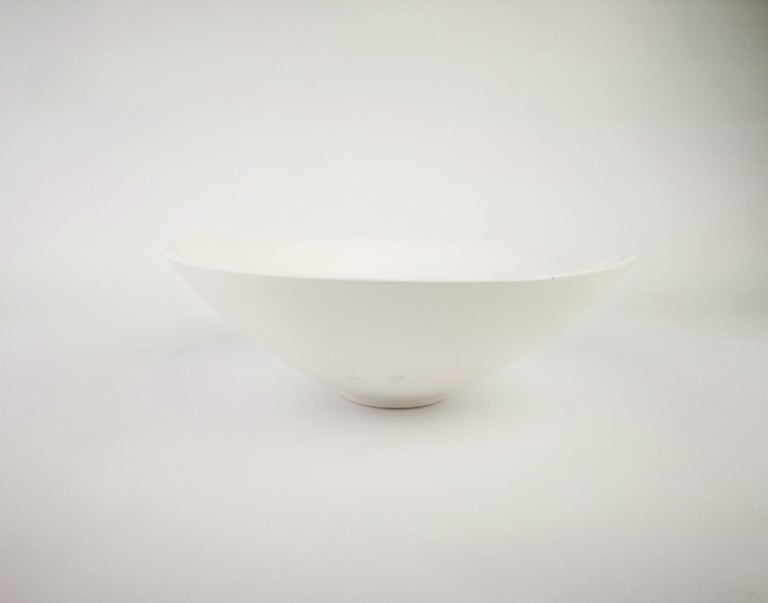 Mid-Century Modern Gustavsberg Ceramic Bowl Surrea Wilhelm Kåge For Sale