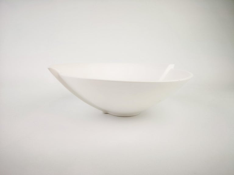 Swedish Gustavsberg Ceramic Bowl Surrea Wilhelm Kåge For Sale