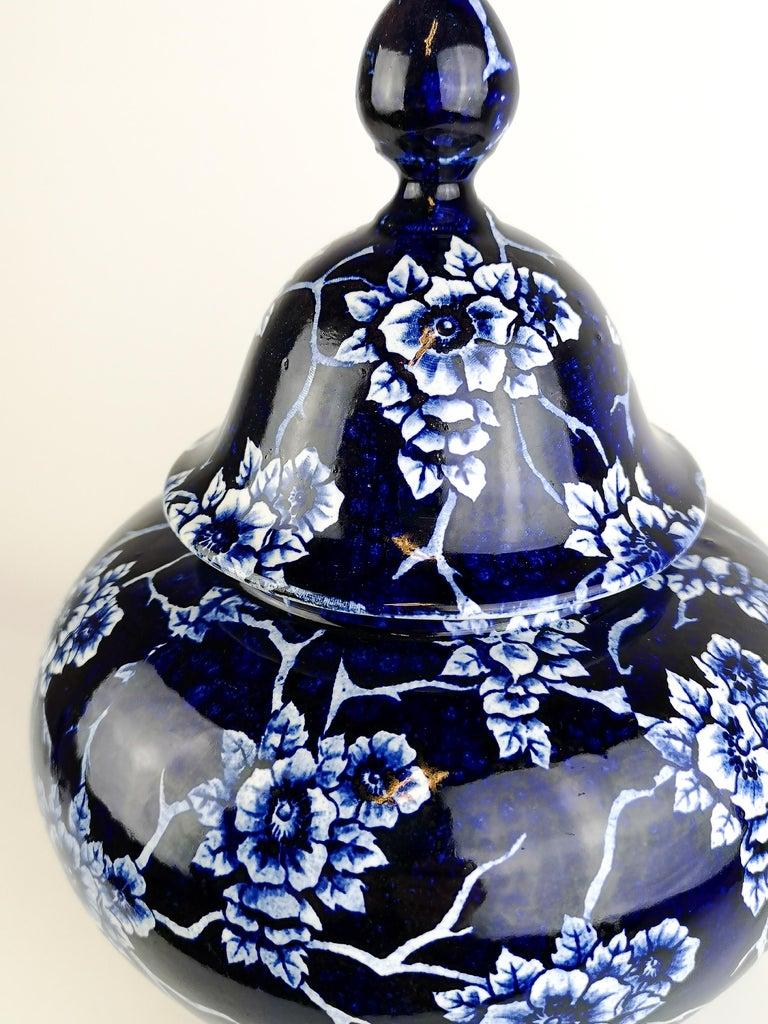 Art Nouveau Large Vase Nang King Rörstrand Sweden In Good Condition For Sale In Langserud, SE