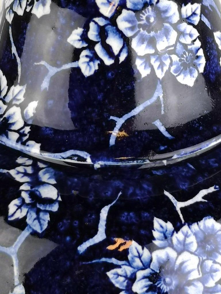 Ceramic Art Nouveau Large Vase Nang King Rörstrand Sweden For Sale