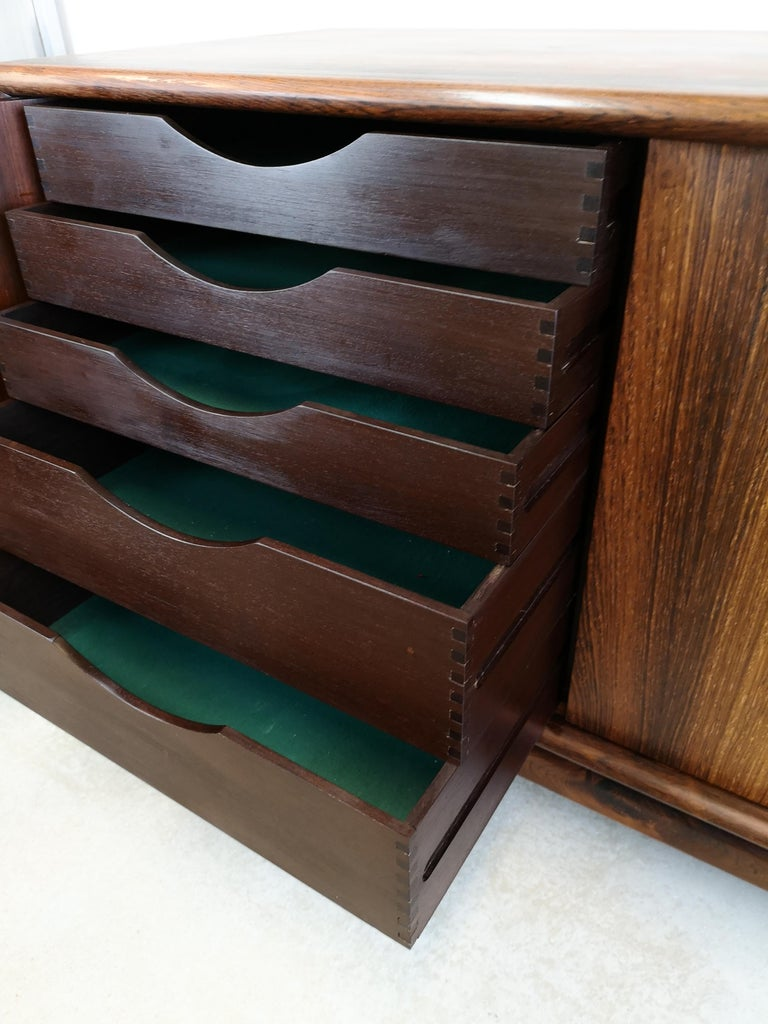 Mid-20th Century Rosewood Sideboard