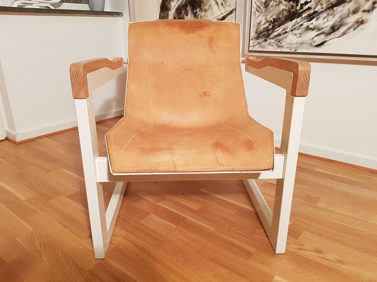 Mats Theselius Atlantic Hellride Easy Chair 1 of 3 Produced by Källemo Sweden For Sale 3