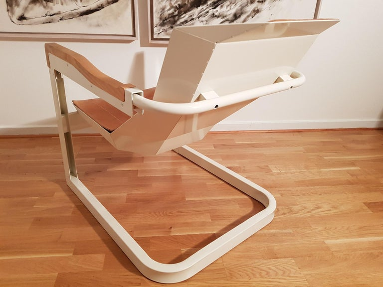 Mats Theselius Atlantic Hellride Easy Chair 1 of 3 Produced by Källemo Sweden For Sale 1