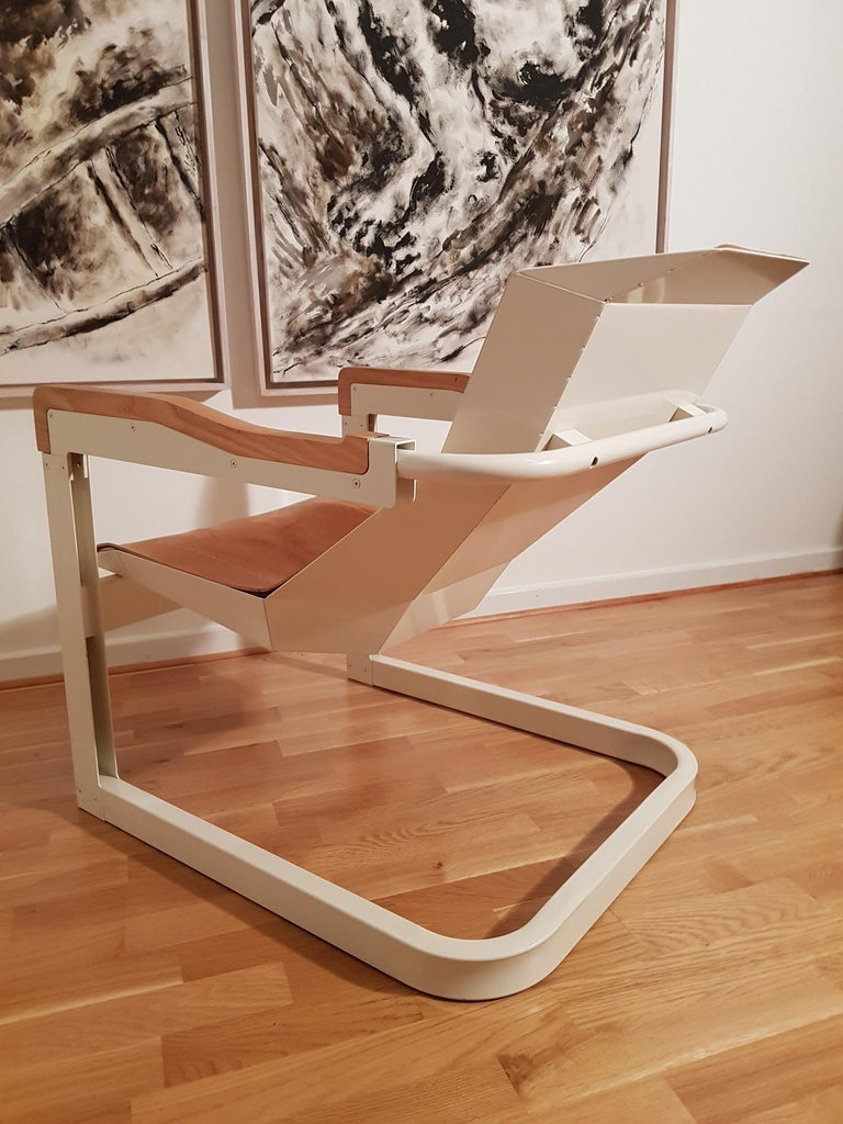 Mats Theselius Atlantic Hellride Easy Chair 1 of 3 Produced by Källemo Sweden For Sale 2