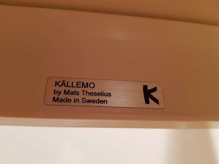 Mats Theselius Atlantic Hellride Easy Chair 1 of 3 Produced by Källemo Sweden For Sale 5
