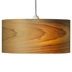Cannea Poplar Wood Drum Pendant Chandelier