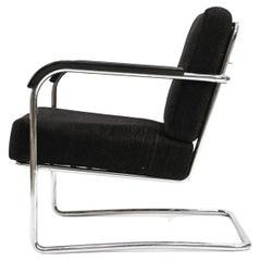 Werner Max Moser for Embru Wohnbedarf, WB21 Lounge Chair Zurich Switzerland 1935
