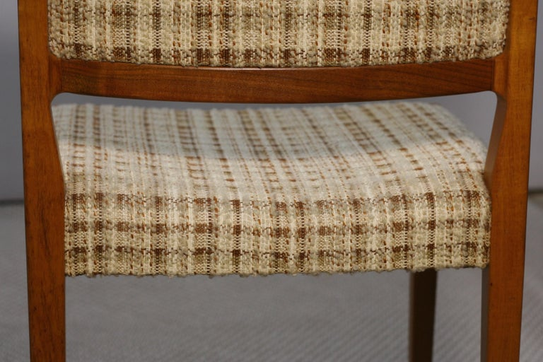 Set of Four Midcentury Swedish Teak Dining Chairs from Troeds, 1960s For Sale 2