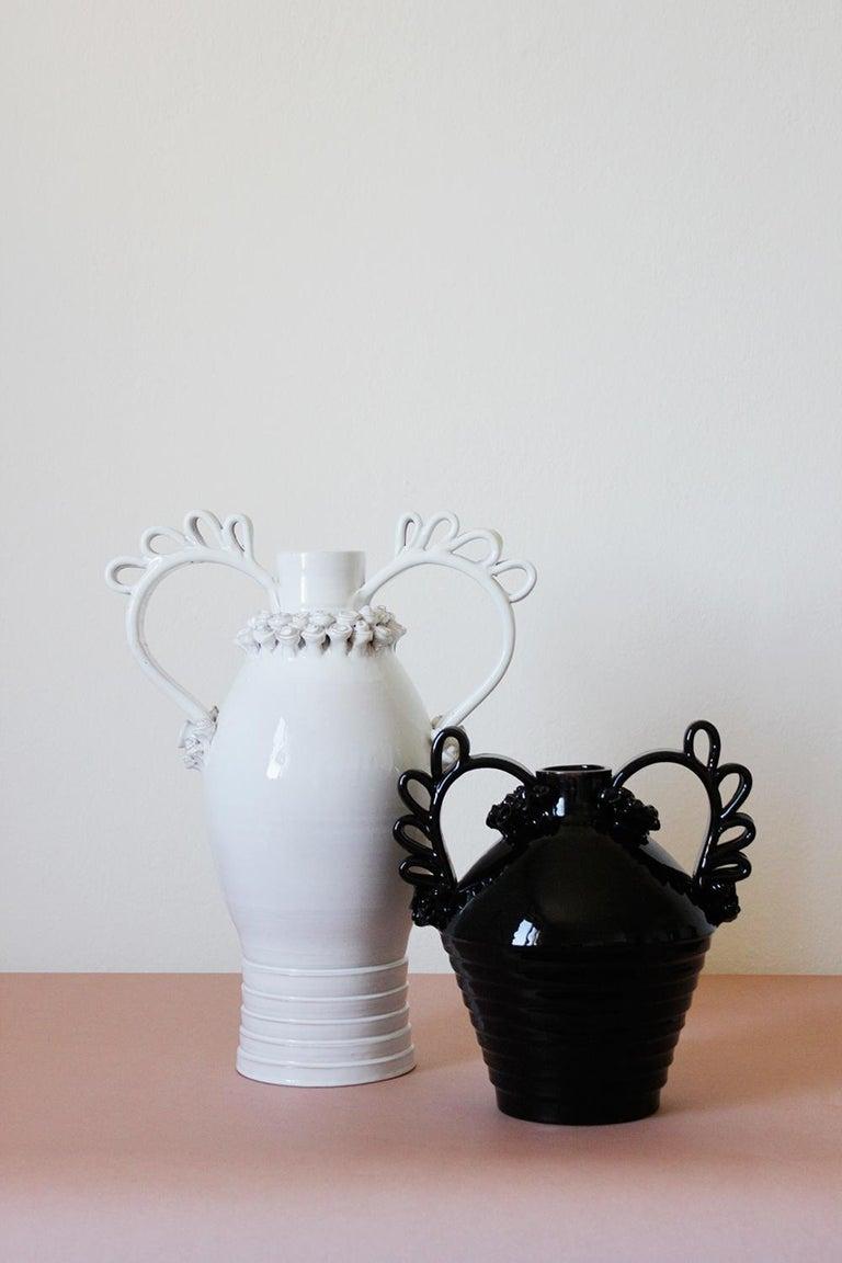 Terracotta Tunda, a Reinterpretation of the Sardinian Nuptial Vase by Valentina Cameranesi For Sale