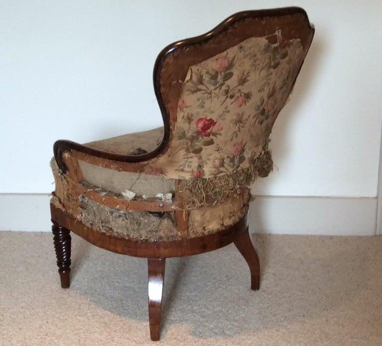 19th Century Regency Armchair For Sale 5