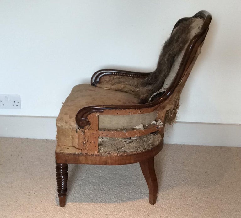 19th Century Regency Armchair For Sale 4