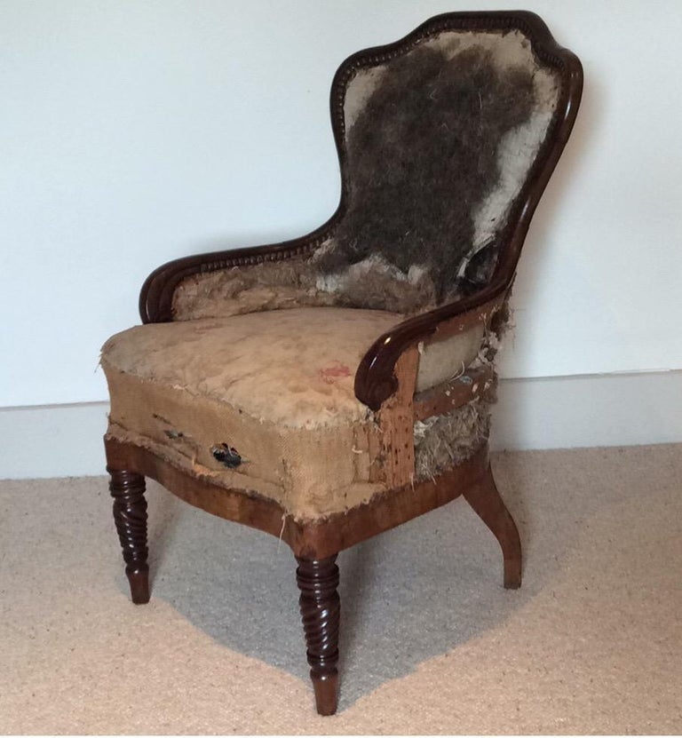 19th Century Regency Armchair For Sale 3