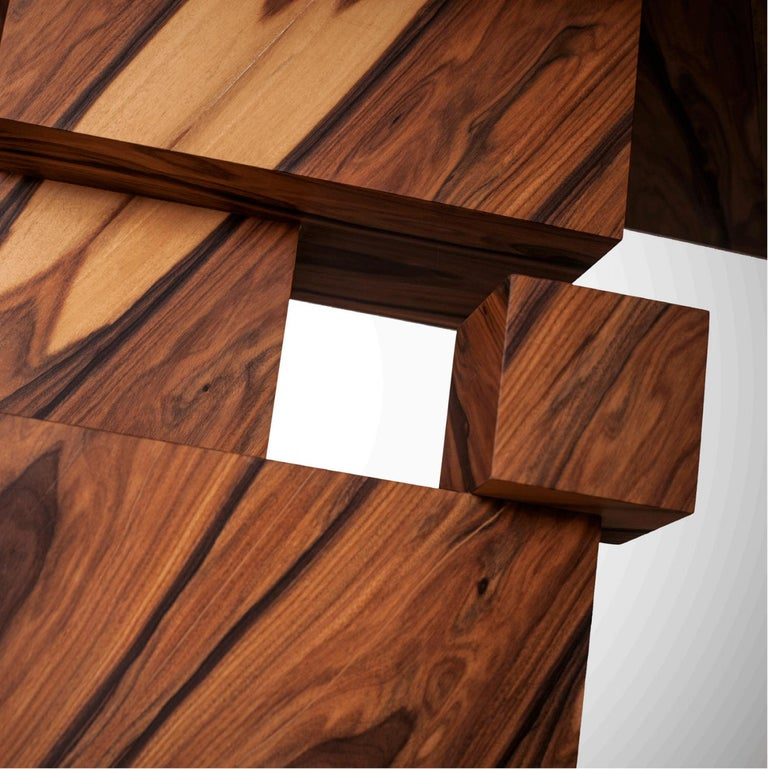 Alma Console Made of Palo Santo Wood, Limited Edition of 7- Contemporary Design In New Condition For Sale In London, GB