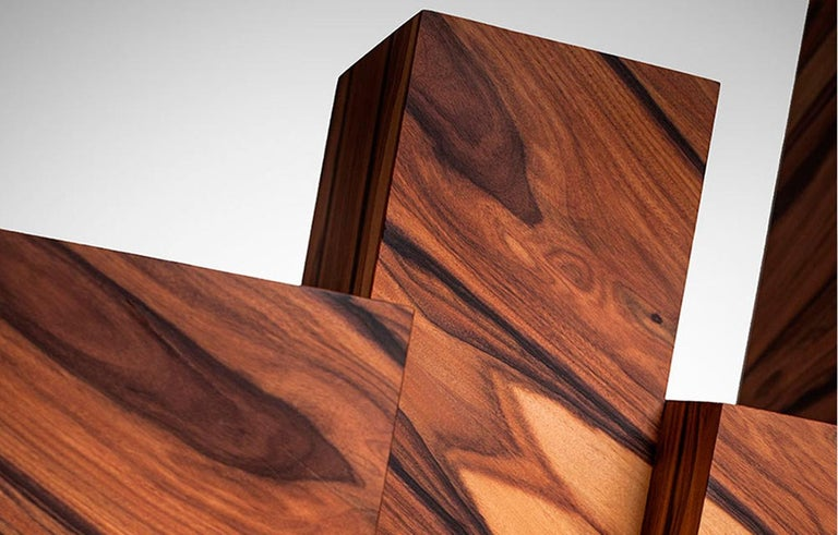 Alma Console Made of Palo Santo Wood, Limited Edition of 7- Contemporary Design For Sale 3