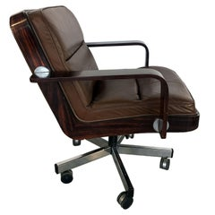 Midcentury Swivel Desk Chair