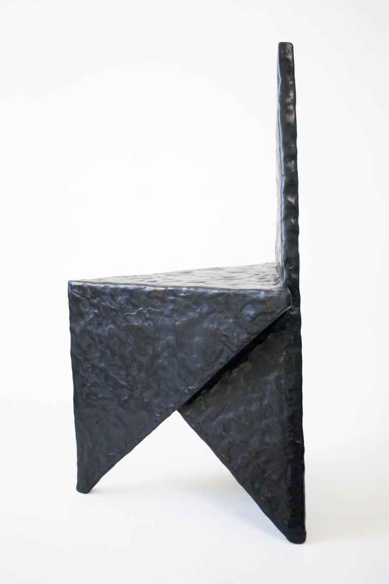 Special Edition 'Grotesque Vanishing Twin' Side Chair by Material Lust, 2017 In Excellent Condition For Sale In New York, NY