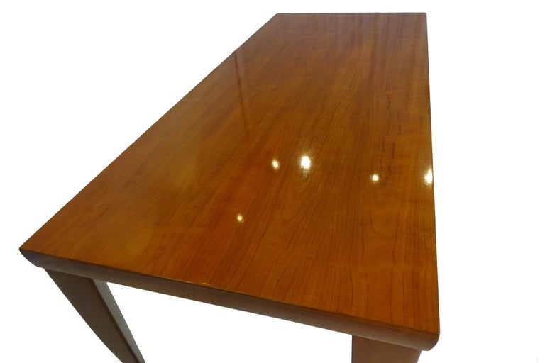 Dining Set  - Cherrywood Incorporating 6 Philippe Starck Tessa Nature Chairs For Sale 4