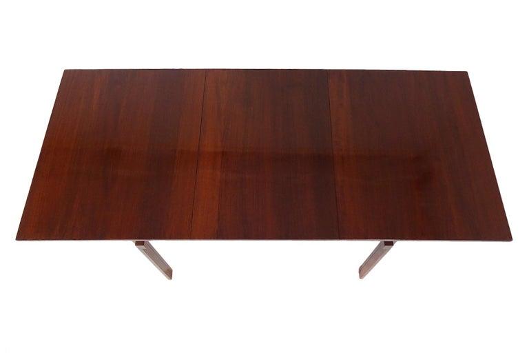 20th Century Dining set - Danish Midcentury teak table & chairs by Inger Klingenberg For Sale