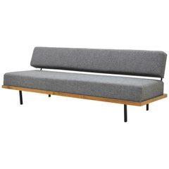 German 1950s Daybed by Josef Pentenrieder for Hans Kaufeld Sofa New Fabric