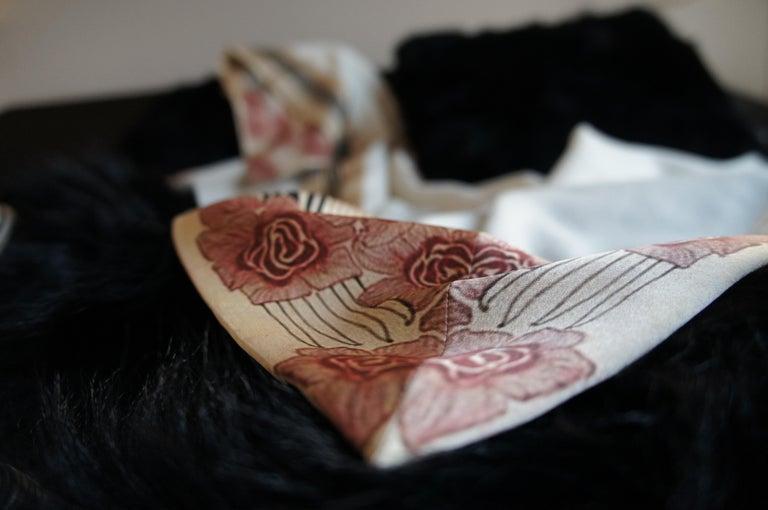 Art Deco Luxury Cashmere Blanket