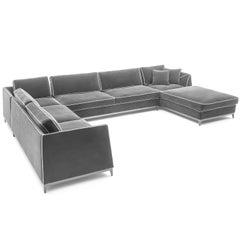 Manzoni Sofa, Designed by Luca Scacchetti, Made in Italy